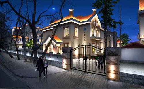 别墅照明设计案例